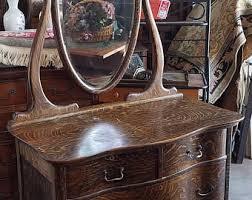oak mirror etsy