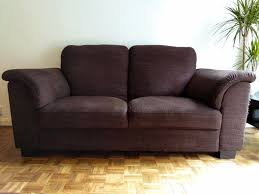 ikea tidafors 2 seater sofa dark brown flat packed 399 rrp
