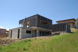 maison en cube moderne maison eko architecte maison bois à lyon
