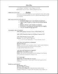 Sample Resume For Picker Packer Warehouse Order Drafting