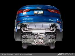 AWE Tuning MQB (8V) Audi S3 SwitchPath™ Performance Cat-Back Exhaust ... Flowmaster 17362 Catback Exhaust System Force Ii 1999 Borla Stype Catback 12671 Milltek Sport Audi 8p A3 Fwd 20t On 3 Performance Mustang Foxbody 50 Lx 1987 For The 42018 Gm Magnaflow 19281 Focus Stainless Steel Apr Cat Back S3 Saloon Clp Tuning 140680bc Tacoma 212 Truck Armytrix Valvetronic Blue Remus Mercedes Cla45 Amg Facelift Model 2015 Mbrp Xp Series S5338409 Rpm Renault Clio 09 Tce Dynamique S Medianav Ss Custom Longlife