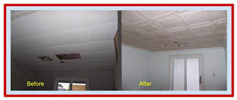 Polystyrene Ceiling Tiles Fire by Improve Your Ceilings In Time For The Holidays Decorative
