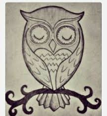 Drawing Owl By JeenyTrindade Another Good Idea For Memorial Tattoo Gamma