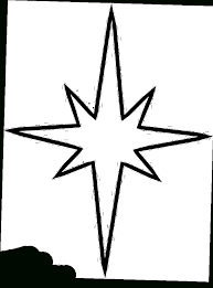Coloring Picture Of A Star Home Throughout Christmas Stars Pages