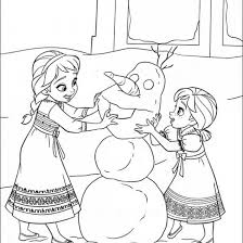 Ideal Free Frozen Coloring Pages To Print