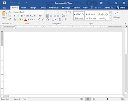 Word 2016 Getting Started With