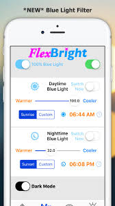FlexBright adds blue light filter to the iPhone prMac