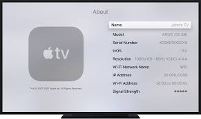 Find the serial number for your Apple TV Apple Support