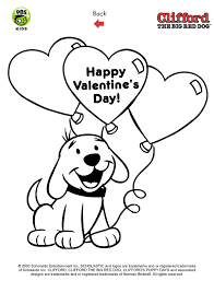 Clifford Printables Puppy Coloring Pages