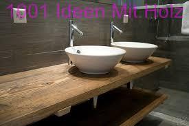 ideen aus holz und metall badezimmer holz altholz