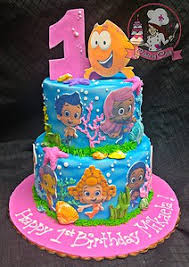 Bubble Guppies Cake Decorations by Cakes By Coley Kids Birthday Cakes