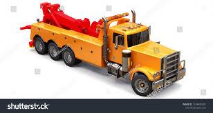 100 Toy Big Trucks Orange Cargo Tow Truck Transport Other Stock Illustration Royalty