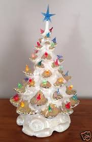 Bulbs For Ceramic Christmas Tree by Vintage Ceramic Christmas Trees Collection On Ebay