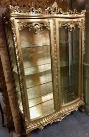 barock vitrine schrank antik stil in 65468 trebur for