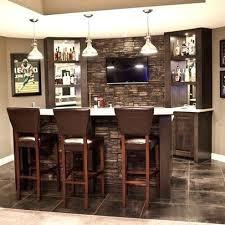 Dining Room Bar Ideas Basement Small