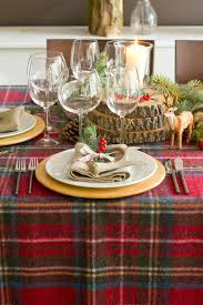 Checkered Tablecloth And Wooden Slices