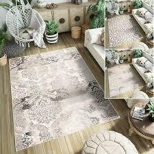 teppich tapiso kurzflor modern floral ornament
