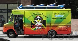100 Green Food Truck FOOD Reggae Chicken