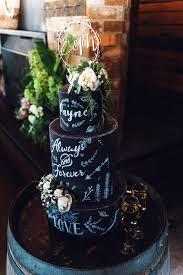 Blackboard Wedding Cake Slice Cakes Melbourne Slicecakes