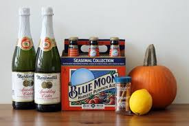 Harvest Pumpkin Ale Blue Moon by Celebrate Oktoberfest With Our Sparkling Pumpkin Cider Beertail