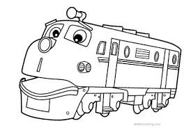 Chuggington Coloring Page Printable Coloring Page For Kids