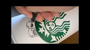 Drawn Starbucks Sketch 7
