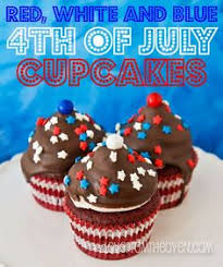 Red White And Blue 4th Of July Cupcakes By Love From The Oven Fourth