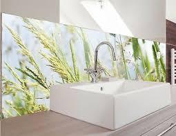spritzschutz bad dusche küche glaslook spritzschutz