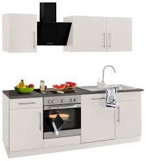 wiho küchen küchenzeile cali ohne e geräte breite 220 cm kaufen otto