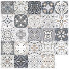 jroyseter 24pcs wasserdichter mosaik wandaufkleber gemischte