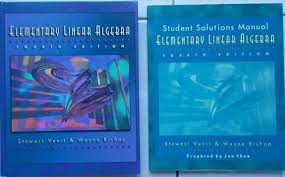 Elementary Linear Algebra 4th Edition Student Solutions Manual