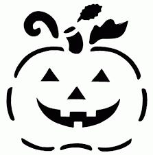 Mermaid Pumpkin Pattern by Pumpkin Carving Clipart