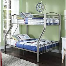 Powell Furniture 941 192 Twin Over Full Bed in Pewter homeclick