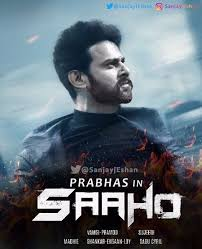 Prabhas Upcoming Film Sahoo Poster