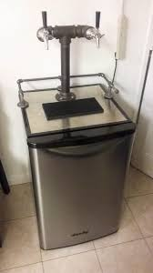 Perlick Beer Faucet 650ss With Flow Control by Danby Mini Fridge Converted Kegorator Homebrewtalk Com Beer