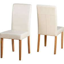 G3 Set Of 2 Cream Faux Leather Dining Chairs Cream Faux Leather Ding Chair With Curved Leg Crossley Single Adela Maple And Lpd Padstow Chairs Pair Brown Or Red Faux Leather Ding Chairs Antique Vintage Button Stud Detail Pack Of 2 Table Seat Set Bolero Tan Mark Harris California Simpli Home Cosmopolitan 9piece 8
