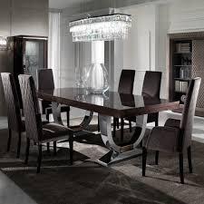 large modern italian veneered extendable dining table juliettes