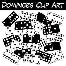 Clipart For Commercial Use Free Dominoes This Full Double Rustic