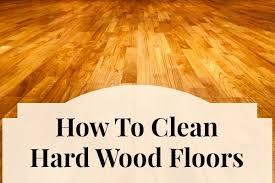 Orange Glo Hardwood Floors by How To Clean Hard Wood Floors Home Ec 101