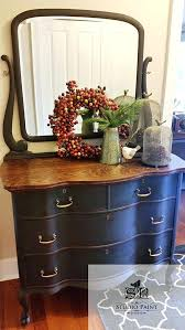 Tiger Oak Dresser With Swivel Mirror by Antique Waterfall Dresser With Round Mirror Items Similar To