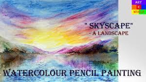 17 Watercolour Pencils Landscape 3