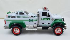 2011 Hess Flat Bed Truck And Race Car - Lights & Sounds | Hess ...