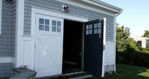 Designing A Swinging Garage Doors Classy Door Design Inside Ideas