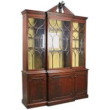 Baker Breakfront China Cabinet by Charak Furniture Company Furniture Storage Cabinets Tables