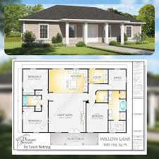 100 The Willow House Plan Lane Custom Home 1650 Sq Ft In 2019 Plans