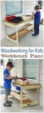 wooden toy box with name melissa doug hammer and saw tool bench