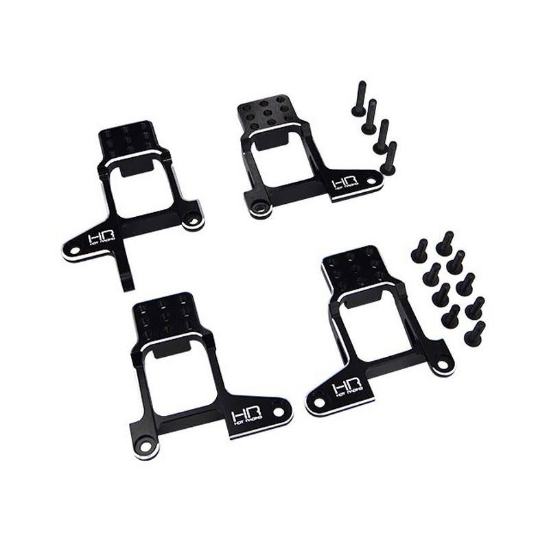 Hot Racing Aluminum Shock Tower Hoops for Traxxas TRX-4
