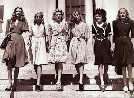 ADORED VINTAGE Dressing Up Vintage 1940s Fashion Style