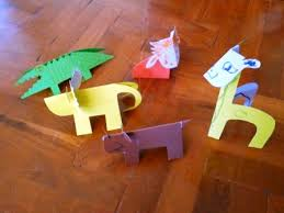 Animal Paper Crafts Choice Image Origami Instructions Easy For Kids