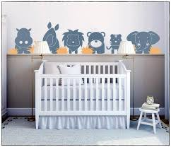 chambre jungle bébé stickers chambre bébé jungle idées de décoration à la maison